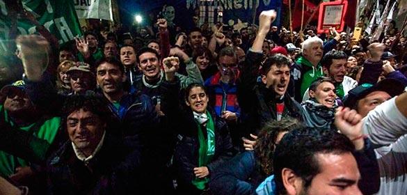 """Hernán Luengo y Pablo Kleiman: """"Gracias a la lucha popular, todos los detenidos fueron liberados"""""""