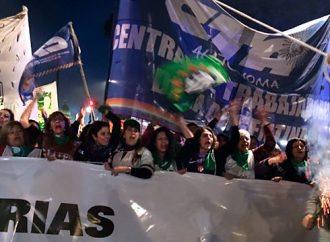 Ni una menos: La CTA Autónoma volvió a ganar las calles contra la violencia machista