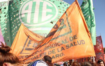 ATE y Fesprosa entregan nota al presidente Alberto Fernández y al ministro de Salud Ginés González García