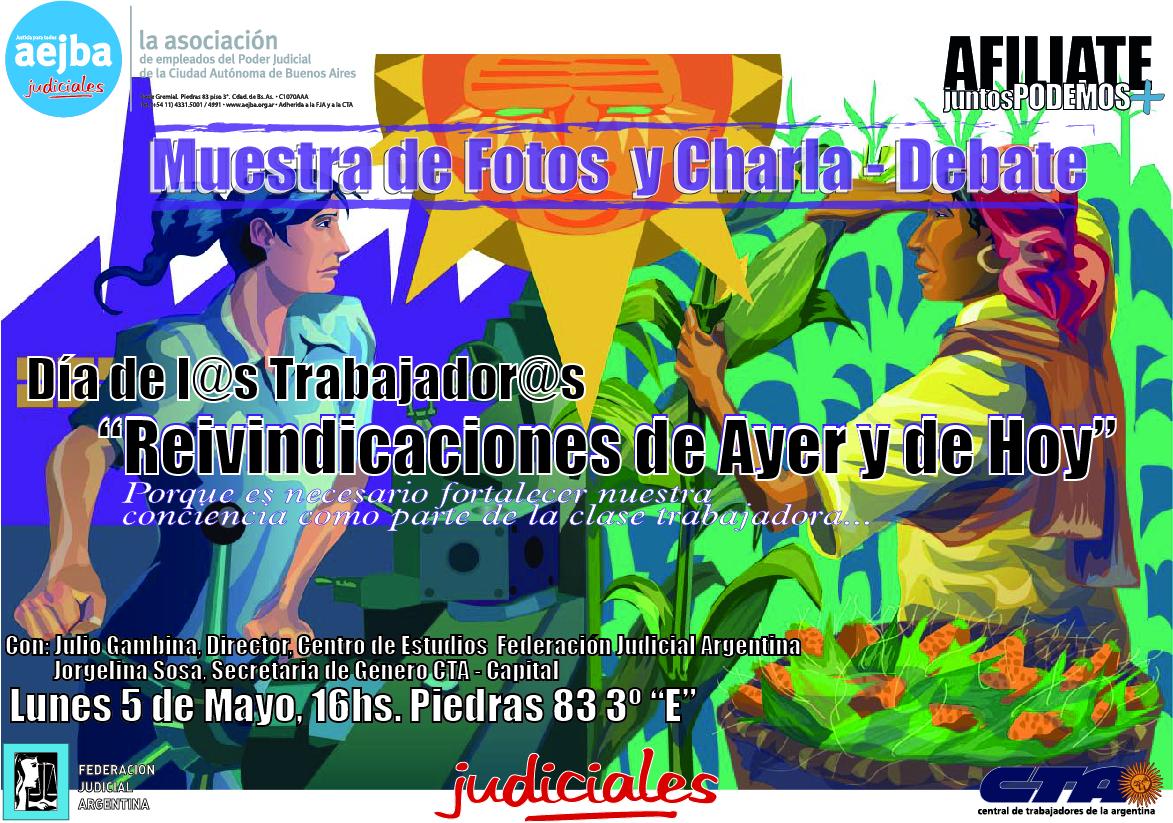 Afiche Jornada AEJBA 5-05