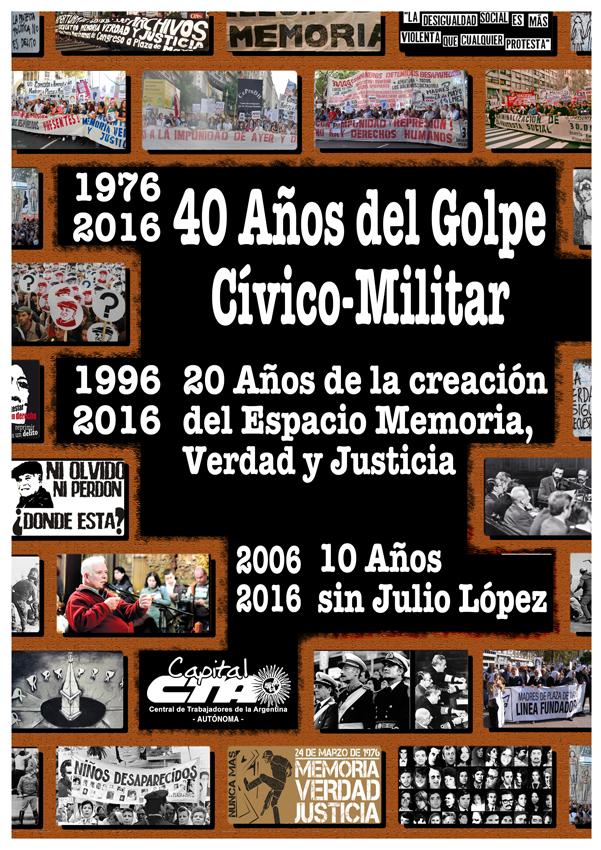 Aniversario del Golpe de estado  - PFacebook o Pagina