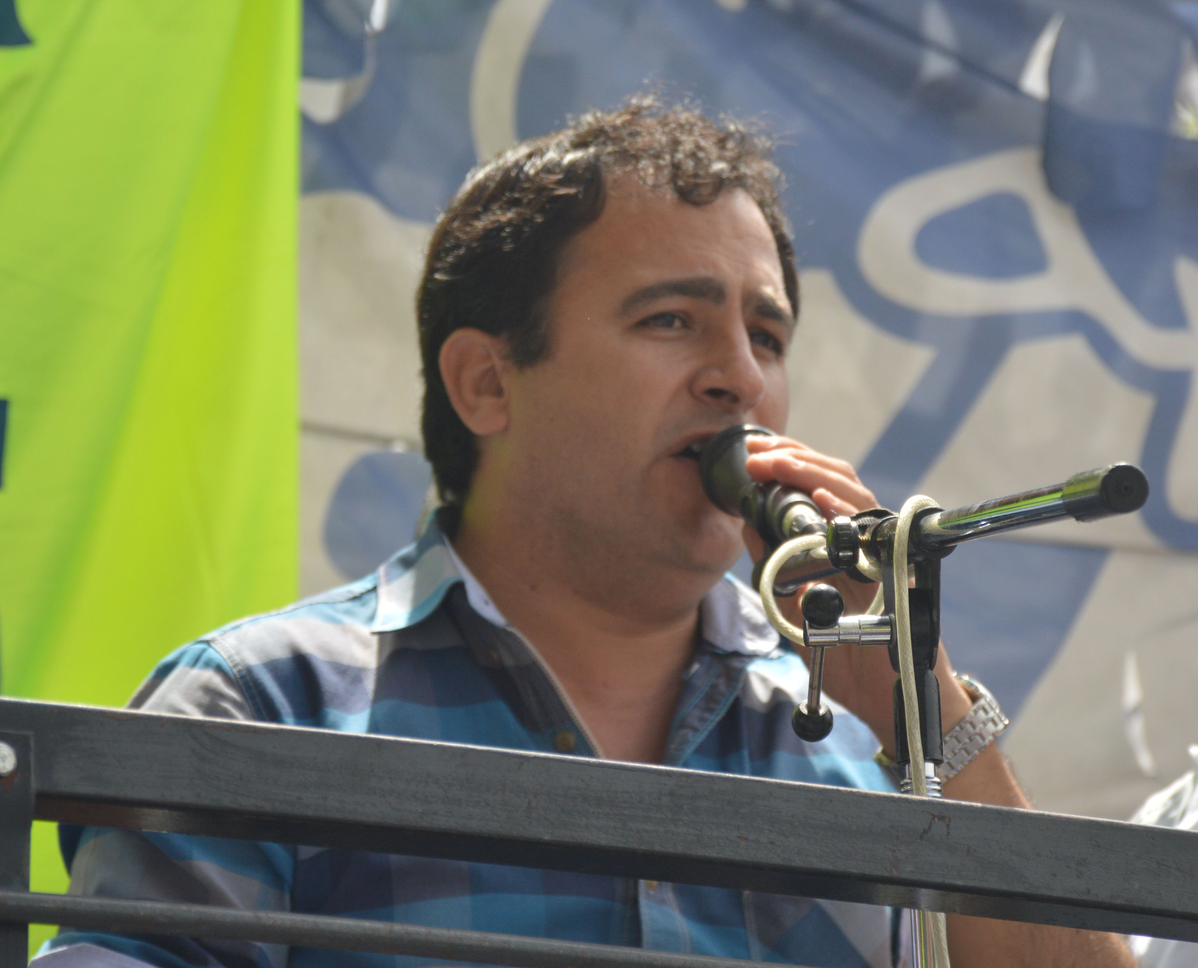 Jorge Castro: «La libertad y democracia sindical en nuestro país, con este tipo de acciones, está en riesgo»