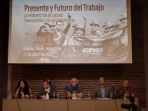 CTA Autónoma organizó debate sobre el futuro del trabajo