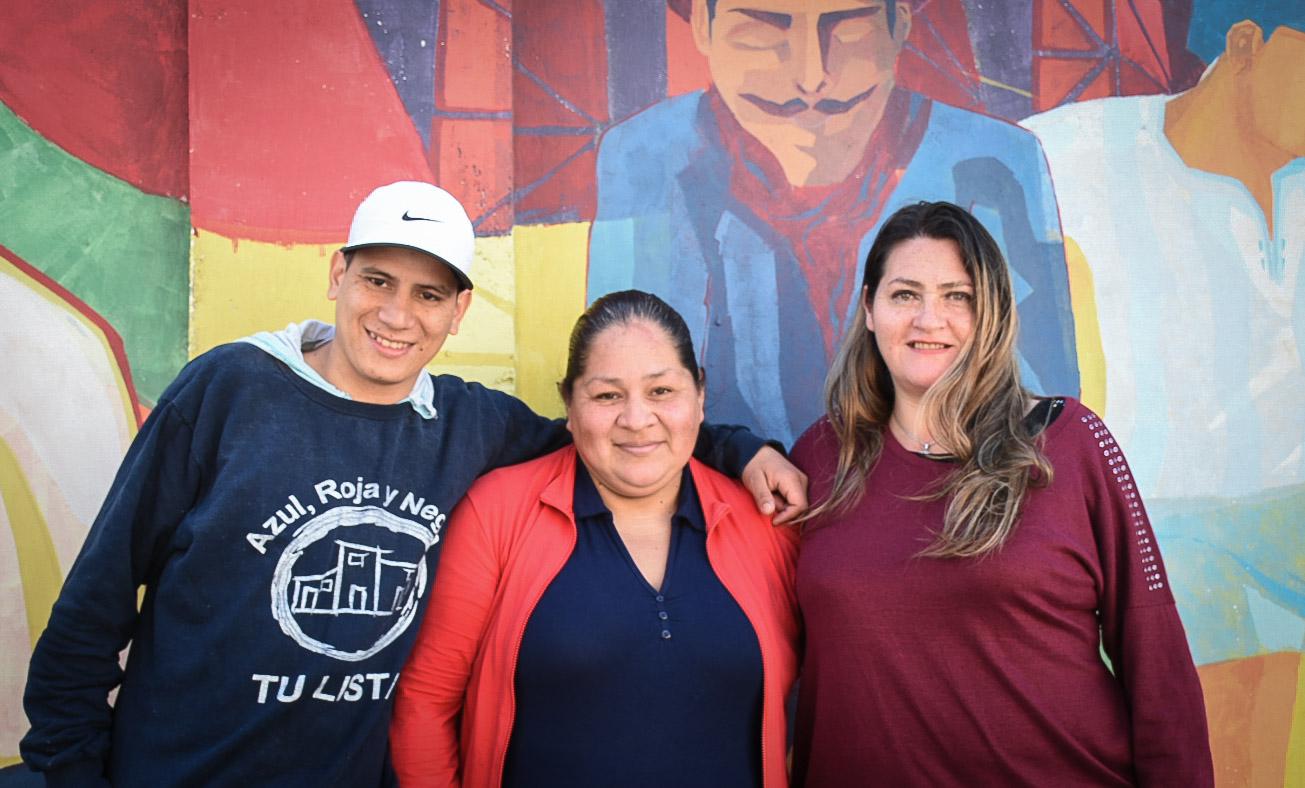 Elecciones en el barrio 21-24, Barracas