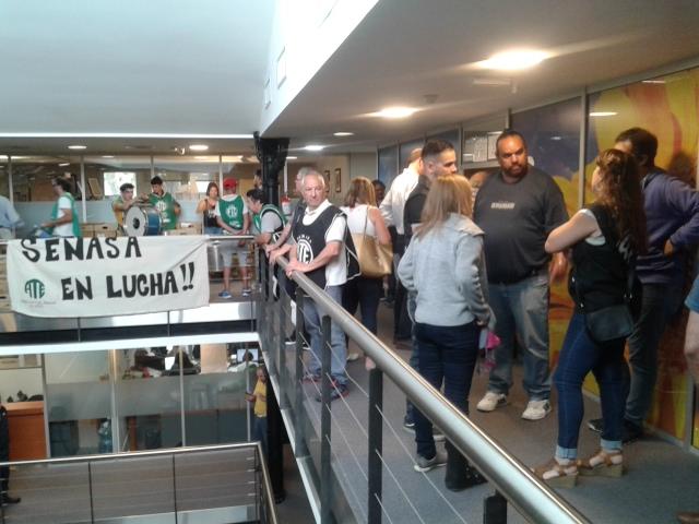 Ollas populares en la Sede Central del Senasa