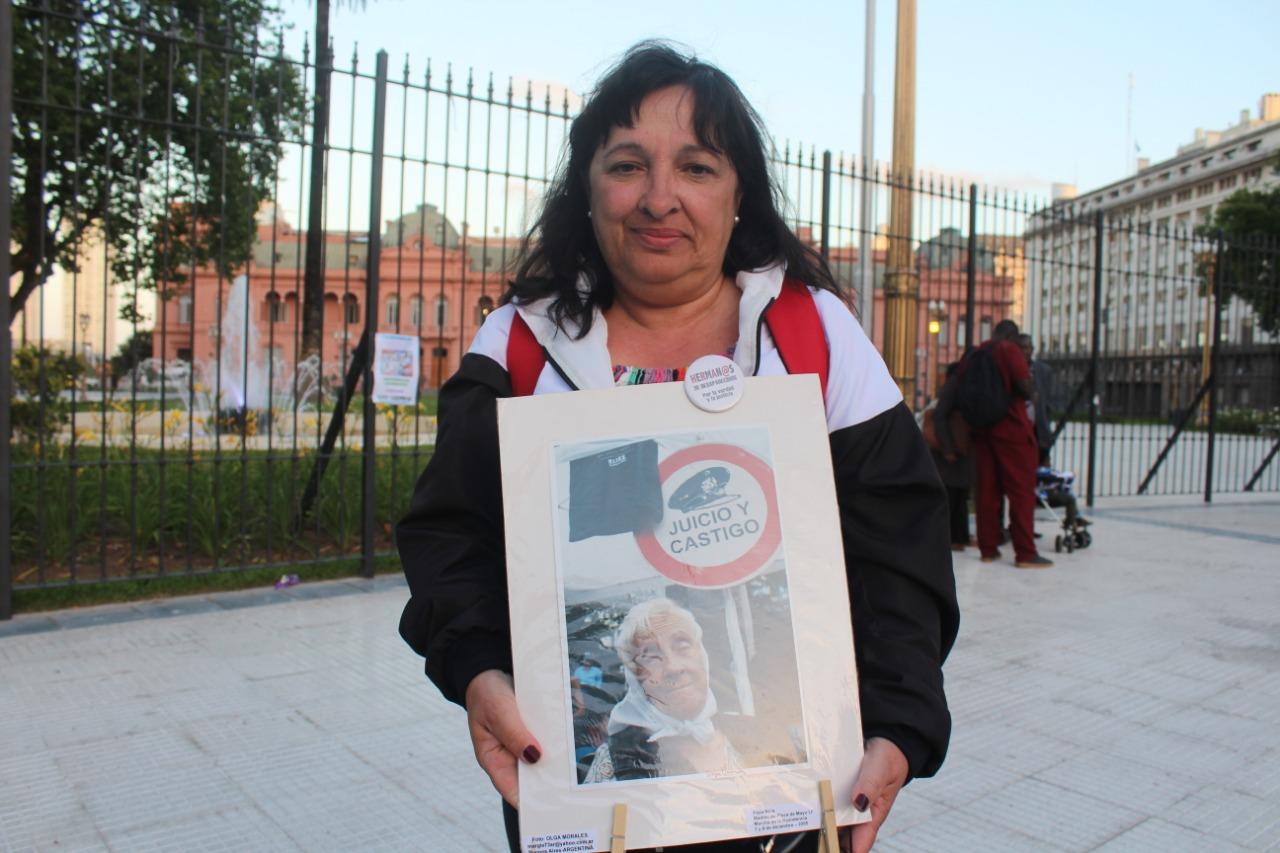 Margarita Noia: «Nunca más te quedes en tu casa, no dejes que te pasen por arriba a vos ni a tu compañero»