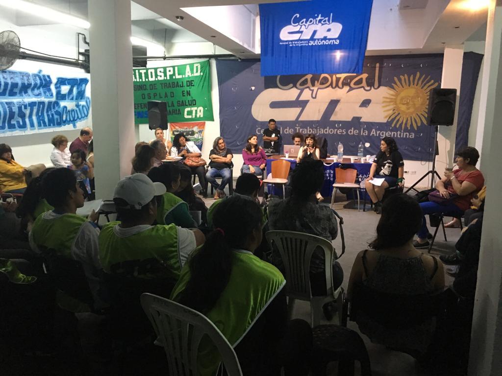 Se realizó el 5° Encuentro de la Militancia en la CTAA Capital