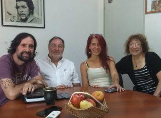 Referentes de la CTAA Capital y de Ciudad sin Techo se reunieron para estrechar lazos y aunar miradas