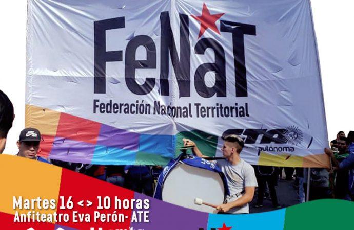 La FeNaT convoca a Plenario Metropolitano para discutir la continuidad del Plan de Lucha