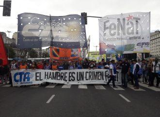 La CTA Autónoma repudia la represión a los trabajadores y las trabajadoras de la Fenat y exige la liberación de los detenidos