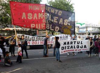 No al desalojo de la Asamblea de San Telmo y al merendero Darío  Santillán