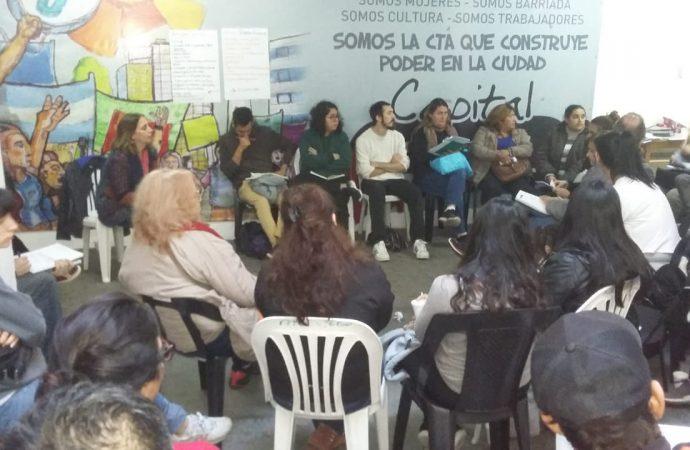 Plenario de la militancia en CTA Autónoma Capital