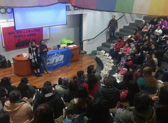 """Daniela Rodríguez: """" Siempre vamos a estar para cada lucha y propuesta que los bachis protagonicen"""""""