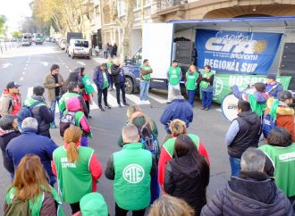 Se llevó a cabo la Jornada de Lucha en Defensa de la Salud Pública