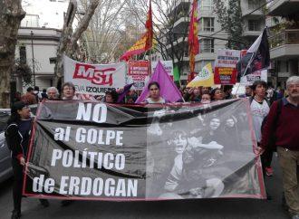 Protesta por los arrestos de alcaldes kurdos