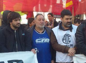 La Central porteña se movilizó para pedir la libertad de Daniel Ruíz