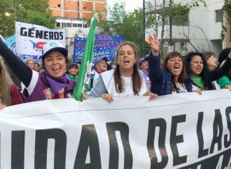 Compañeras de la CTA Autónoma protagonizaron el Encuentro más multitudinario de la Historia en La Plata