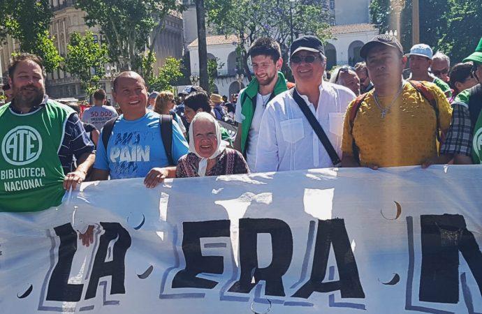 Nora Cortiñas: «Vamos a seguir marchando hasta que nos digan qué hicieron con nuestros hijos»