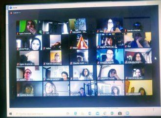 Compañeras de la CTA Autónoma participaron de la Segunda Asamblea Feminista