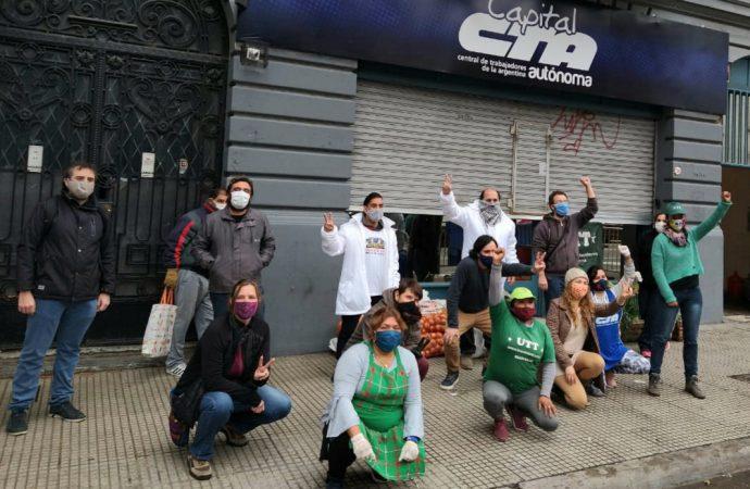Jornada Nacional de Lucha por la expropiación de Vicentin y hacia la soberanía alimentaria del país