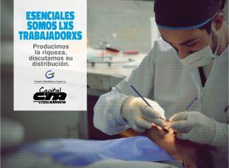 """Quiróz:  """"Necesitamos que se termine con la precarización de las y los odontólogos"""""""
