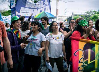 """""""Nuestro orgullo es transfeminista, popular, sudaca y villero"""""""