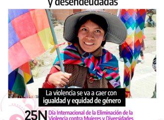 La violencia se va a caer con Igualdad y Equidad de Géneros
