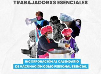 Spataro: «El estado porteño se comprometió a tener en cuenta a trabajadores esenciales en el calendario de vacunación»