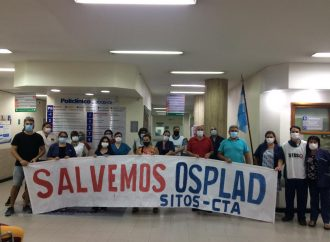 OSPLAD: Nueva Jornada de Protesta en reclamo de deuda salarial