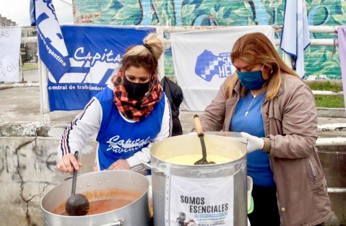 El Gobierno porteño reconoció a las y los trabajadores de los espacios comunitarios
