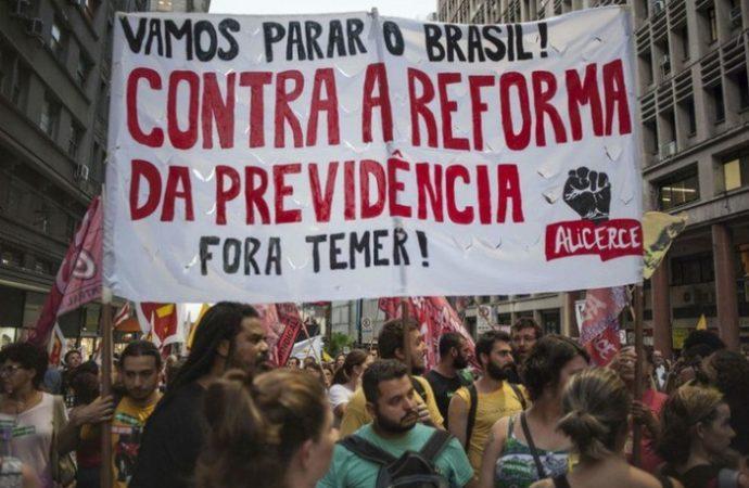 Reforma previsional, movilizaciones y movimiento sindical en Brasil