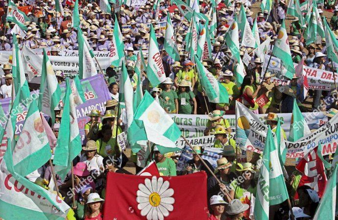 La Marcha de las Margaritas y la lucha de las mujeres brasileñas