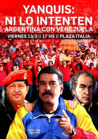 La CTA Capital convoca a movilizarse en solidaridad con Venezuela