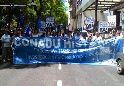 30 y 31 de de marzo: Jornada Nacional de lucha de la CONADU Histórica