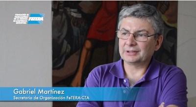 Gabriel Martínez: «Lo nuestro fue una cruzada contra la privatización y por la recuperación de los recursos energéticos»