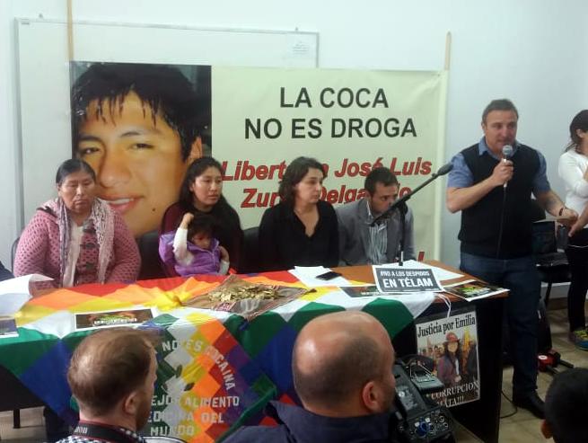 Ordenaron la liberación de Zurita Delgadillo