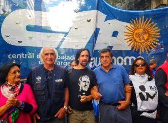 La CTA Autónoma marchó en todo el país por Memoria, Verdad y Justicia