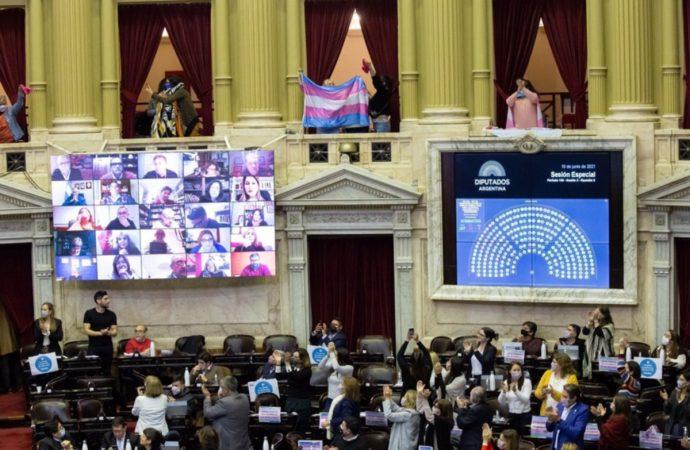 Media sanción de la Ley de Cupo Laboral Trans, un paso más  hacia  la ampliación de derechos