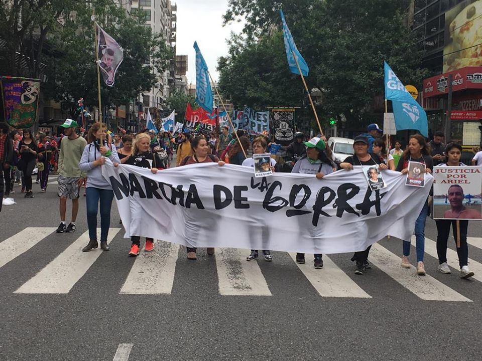 La CTAA Capital participó de la segunda Marcha de la Gorra