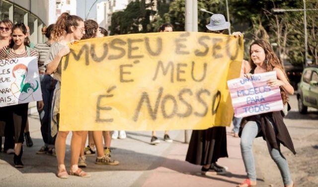 Trabajadores de la cultura luchan contra la privatización de los museos en Brasil
