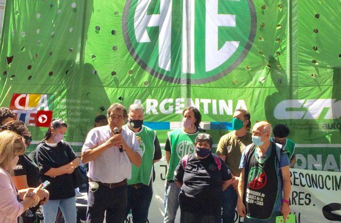 Auxiliares de educación: Jornada de lucha en todo el país