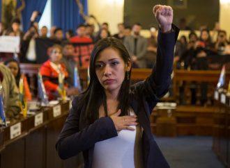 """Adriana Salvatierra: """"El golpe de Estado le está pasando factura a los bolivianos"""""""