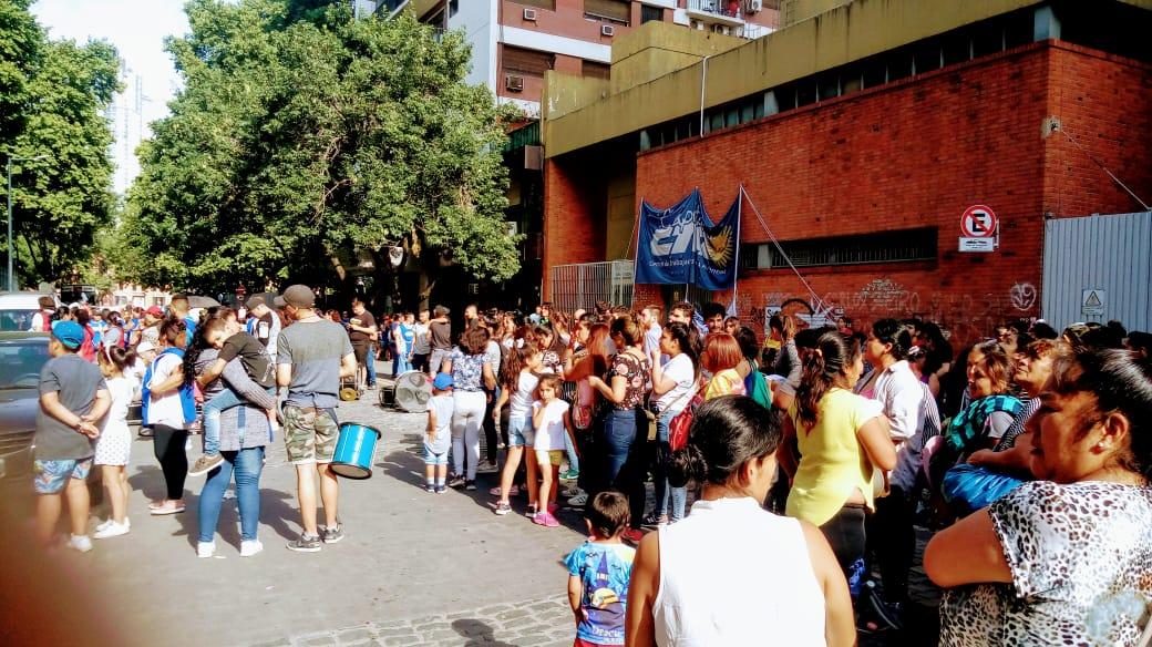 Marcha en defensa del Bachillerato «Alberto Chejolán»