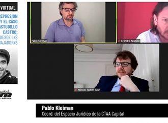 """Tauber Sanz: """"En la impunidad de cada uno de estos casos, está el siguiente caso"""""""