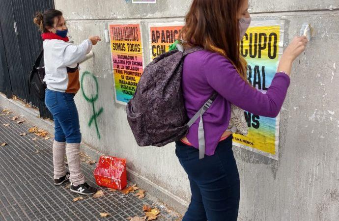 """Clarisa Gambera: """"Somos parte de ese feminismo popular, el de las trabajadoras y volvimos a gritar ¡VIVAS NOS QUEREMOS!"""""""