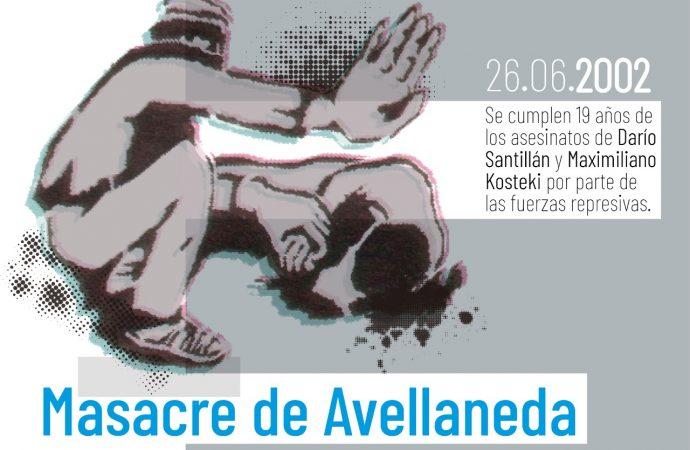 A 19 años de la Masacre de Avellaneda, sigamos multiplicando el ejemplo de Darío Santillán