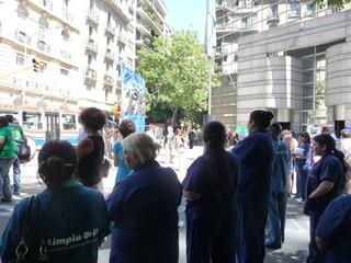 La empresa de limpieza La Mantovana reincorporó al trabajador despedido
