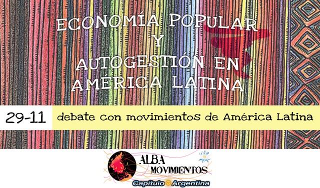 Panel Economía Popular y Autogestión en América Latina y el Caribe