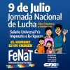 """Jornada de Lucha de la FeNaT: """"Queremos más democracia con soberanía, trabajo y producción"""""""
