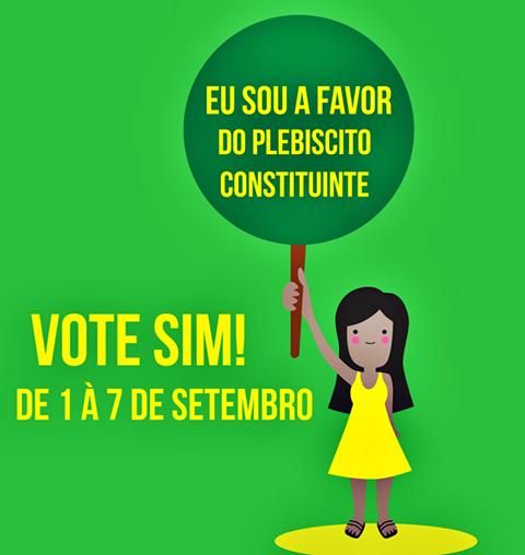 Brasil: Plebiscito Constituyente